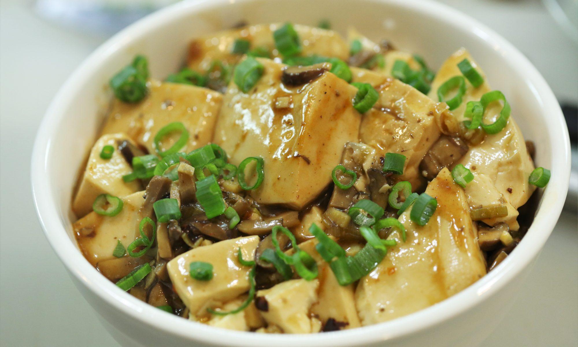 Mapo Tofu Mushroom